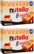 "Ferrero: ""Nutella B-ready "" a crisp wafer of bread in the form of mini b... - $40.08"