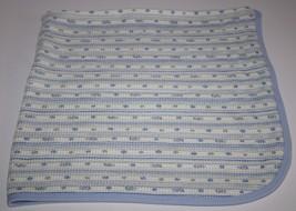 Gerber Thermal Waffle Weave TURTLES Baby Receiving Blanket 100% Organic ... - $22.19 CAD