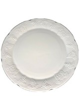 """Indiana Colony Milk Glass ~HARVEST GRAPE 14"""" Torte Plate /Round Platter /Charger - $19.79"""