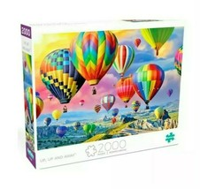 """2000 Piece Jigsaw Puzzle Buffalo Games 38"""" x 26"""" - Up Up and Away - $28.45"""