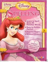 Disney Learning Princess Educational Spelling Activity Book With Reward ... - $5.49