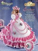 Esther Of Mobile Dress For Fashion Doll Crochet PATTERN/INSTRUCTIONS Rare - $8.07