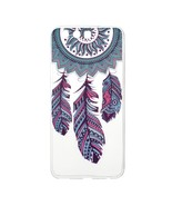 Patterned Clear TPU Cover for Huawei P10 - Tribal Feather Dreamcatcher - $2.28