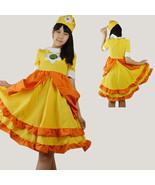 Super Mario Bros. Cosplay Princess Daisy Costume Dress Partywear - $60.19