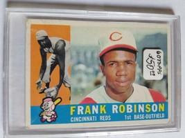 1960 Topps #490 Frank Robinson : Cincinnati Reds - $40.80
