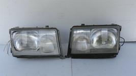 86-93 Mercedes W124 260E 300E 300D 300TE 400E Euro E-Code Headlight Lamps Set LR image 1