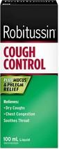 ROBITUSSIN Cough Control Extra Strength Plus Mucus & Phlegm Relief 100ml... - $16.88