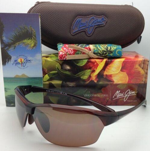 Nuevas Polarizadas Maui Jim Gafas de Sol Sexy Tierra Mj 426-26 Rootbeer Hcl image 3
