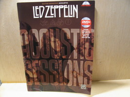Led Zeppelin Guitar Sessions Acoustic Book Sheet Music /no cd - $14.00