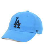 Los Angeles LA Dodgers 47 Brand Womens MLB Neon Clean Up Baseball Cap Ha... - $19.90