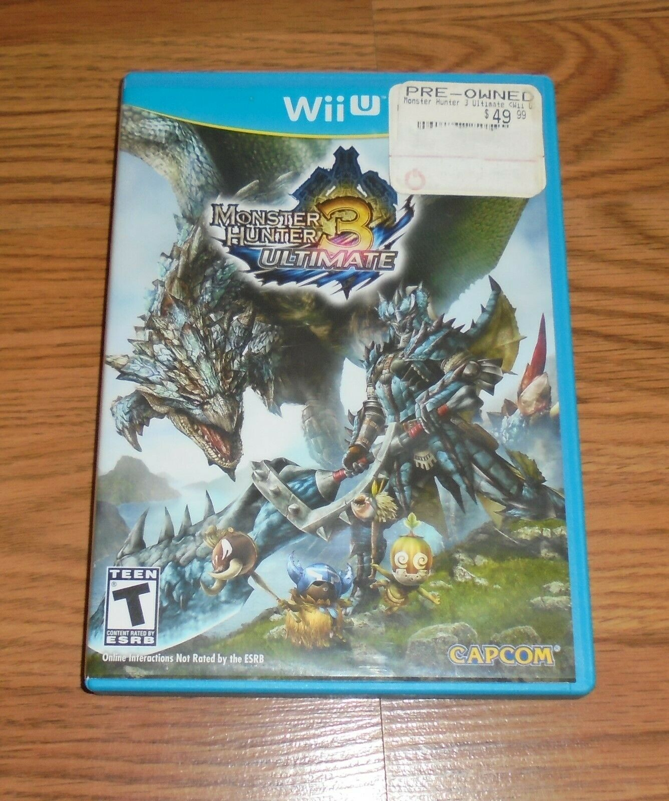 Monster Hunter 3 Ultimate (Nintendo Wii U, 2013) Complete Video Game
