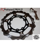 Kx450f Kx250f Kxf Front Oversize Floating Disc Rotor 270mm + Mounting Br... - $119.95