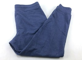 Champion Women's French Terry Track Jogger Pants Size L Blue - $12.73