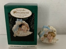 Hallmark Keepsake Ornament Collector's Club On Cloud Nine 1994 - $5.00