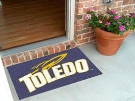 NCAA -  Toledo Starter Rug 19 inch x30 inch   - $34.99