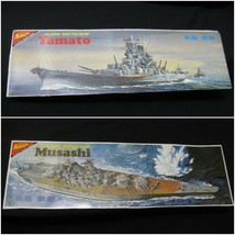 Nichimo 1/700 IJN Battleship Yamato + Musashi Motoized plastic model kit... - $93.10