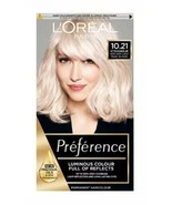2 x Loreal Preference VERY VERY LIGHT PEARL BLONDE Hair Dye Lightener ST... - $35.84