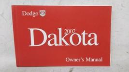 2002 Dodge Dakota Owners Manual 52848 - $26.06