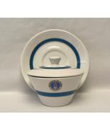 Vintage Syralite Syracuse China US Air Force sugar bowl & saucer militar... - $20.00