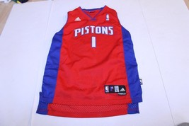 Youth Detroit Pistons Chauncey Billups L (14/16) Embroidered Jersey (Red... - $23.36