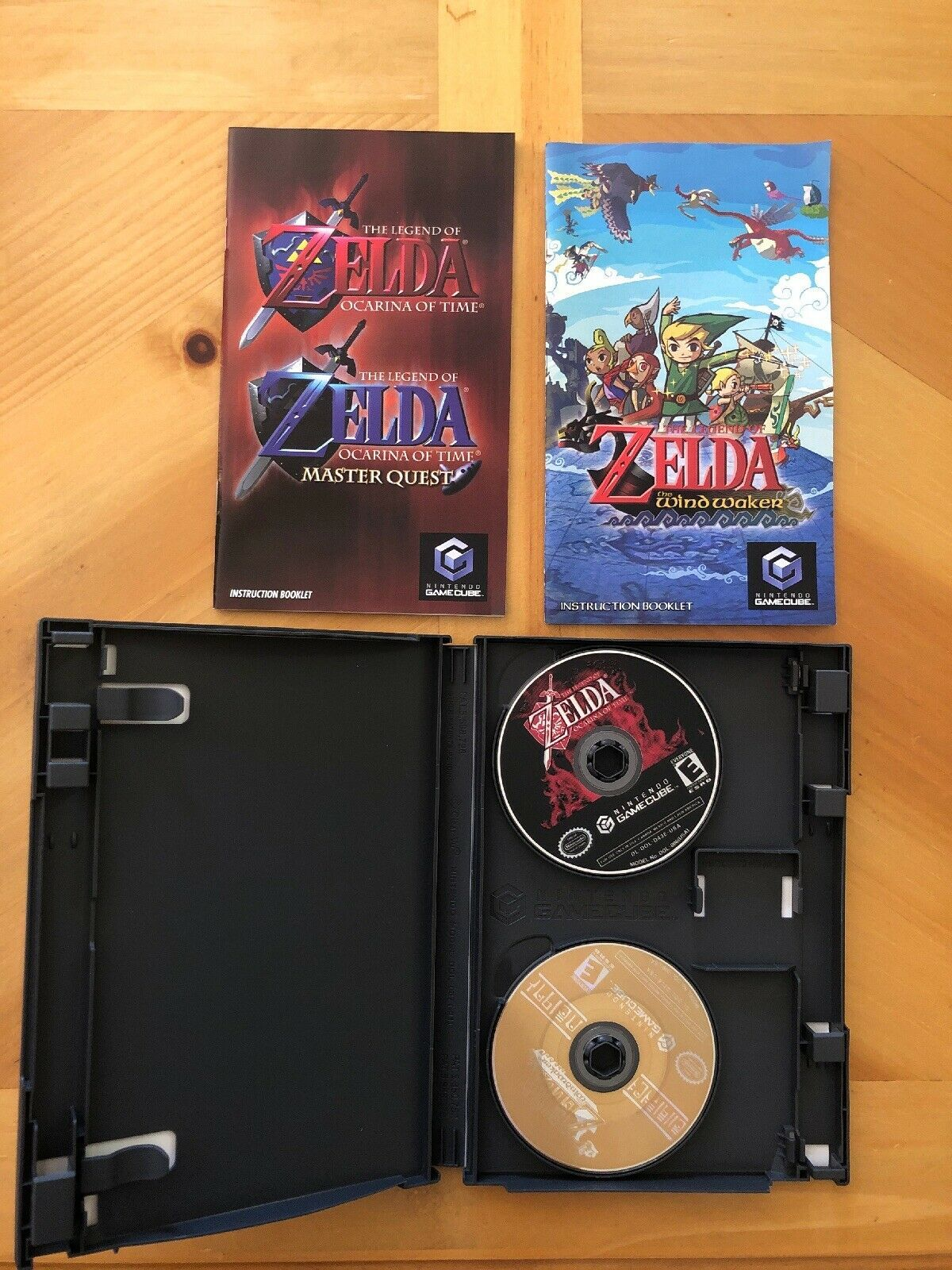The Legend Of Zelda The Wind Waker 2-Game Bonus Disco, Nintendo Gamecube, Cib image 2