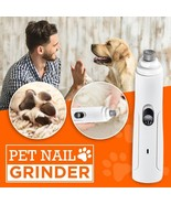 US, CN - Rechargeable Portable Pet Nail Grinder Dog Nail Clippers Painle... - $33.90