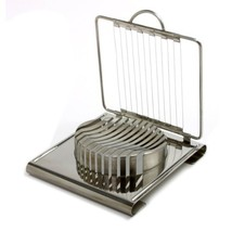 Stainless Steel Cheese Slicer, Best Metal Soft 12 Slice Cheese - $31.99