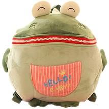 Infant Knapsack Baby Children Backpack Prevent from Getting Lost Green image 2