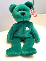 Ty Beanie Baby St. Patty's Special 1997 Retired Erin The Bear Rare Original - $15.00