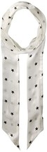Vince Camuto Women's Supernova Star Skinny Scarf, WHITE, One Size - $15.84