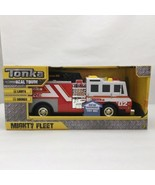 Tonka Real Tough Mighty Fleet Fire Truck Ages 3+ - $21.99