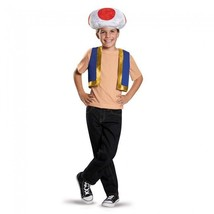 Disguise Toad Kit Super Mario Bros Nintendo Childrens Halloween Costume ... - $23.74