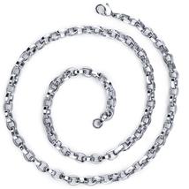 Stainless Steel Belcher Link Chain - 20 Inch - $54.99