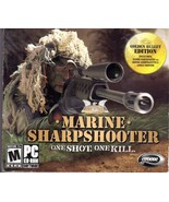 Marine Sharpshooter One Shot One Kill PC Game CD Rom  - $6.50