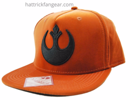 Star Wars Republic Emblem Adjustable Snapback Flat Bill Cap - $18.00