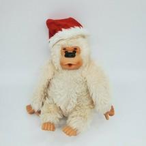 """9"""" Russ Vtg Conga Santa Thumb Sucking Cream Gorilla Plush Stuffed Toy B224 - $14.99"""