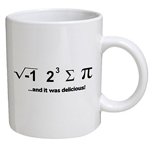 Primary image for Funny Mug - And It Was Delicious. Math Geek - 11 OZ Coffee Mugs