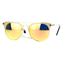 Womens Designer Fashion Sunglasses Round Retro Metal Frame UV 400 - $8.95