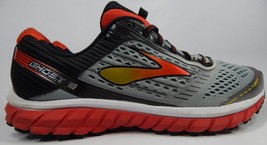 Brooks Ghost 9 Size US 14 M (D) EU 48.5 Men's Running Shoes Gray Red 1102331D999