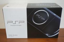 SONY PSP Playstation Portable Piano Black PSP-3000PB Japan Game New - $366.88