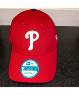Phillies Baseball Hat Mens OSFA New Era 9Forty Adjustable Cap Philadelph... - £15.48 GBP