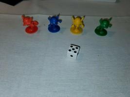 Milton Bradley Mouse Trap Complete Set Mice Tokens & Die - Replacement Parts - $5.40