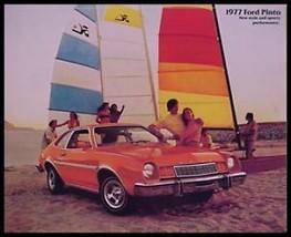 1977 Ford Pinto Brochure- Sedan, Rallye, Pony, Runabout - $5.76