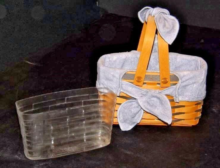 Longaberger Easter Basket AA18-1277 Vintage 1998 U.S.A.