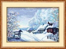 Cross Stitch Kit Riolis Russian Winter - $35.00