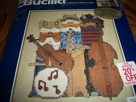 Bucilla Counted Cross Stitch Kit 42664~All That Jazz - $12.00