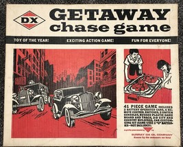 Vintage DX Sunray Oil Co. Getaway Chase Board Game In Original Box For P... - $34.95
