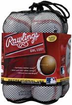 Rawlings Official League Recreational Use Baseballs, Bag of 12, OLB3BAG12 - $32.99