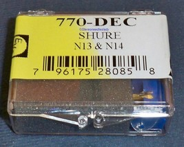 RECORD NEEDLE STYLUS for Shure N13 N14, N16 Electro-Voice 770-DEC Japan image 2