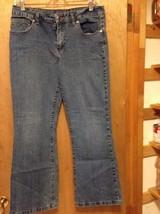 Arizona jeans size 14 1/2 plus 32x26 1/2 flare girls 1% spandex - $2.95